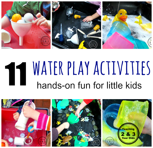 11 Water Play Activities