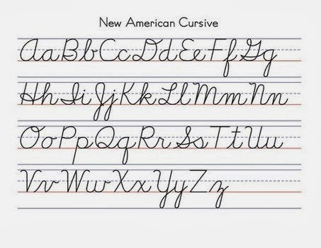 Teach Cursive Handwriting
