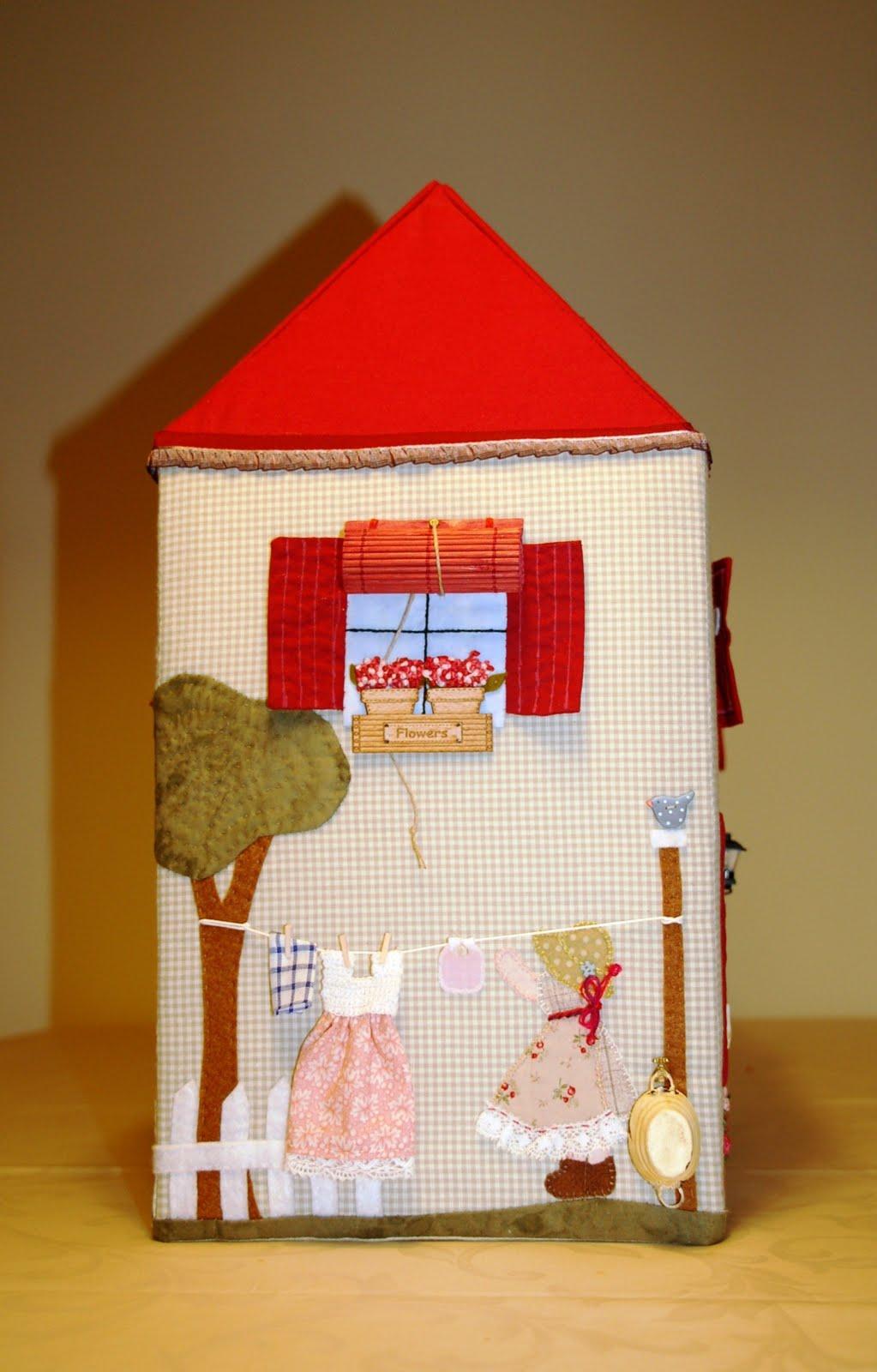 Olga quilt una casita para berni - Casas de patchwork ...