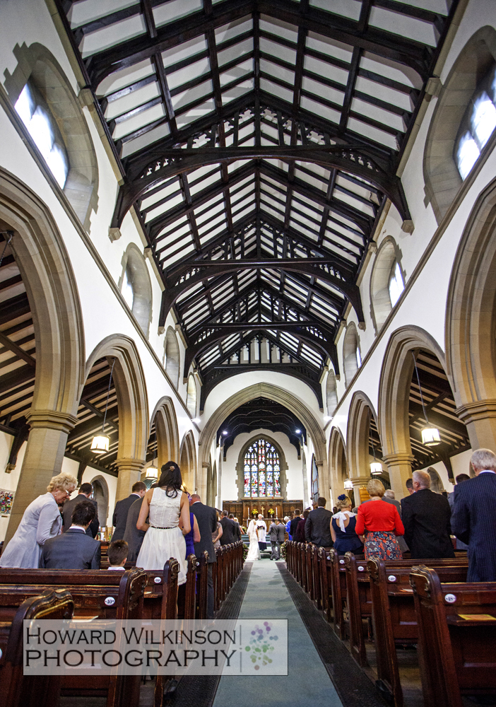 Howard Wilkinson Photography Yorkshire Wedding Photography At St Judes Church Halifax Then