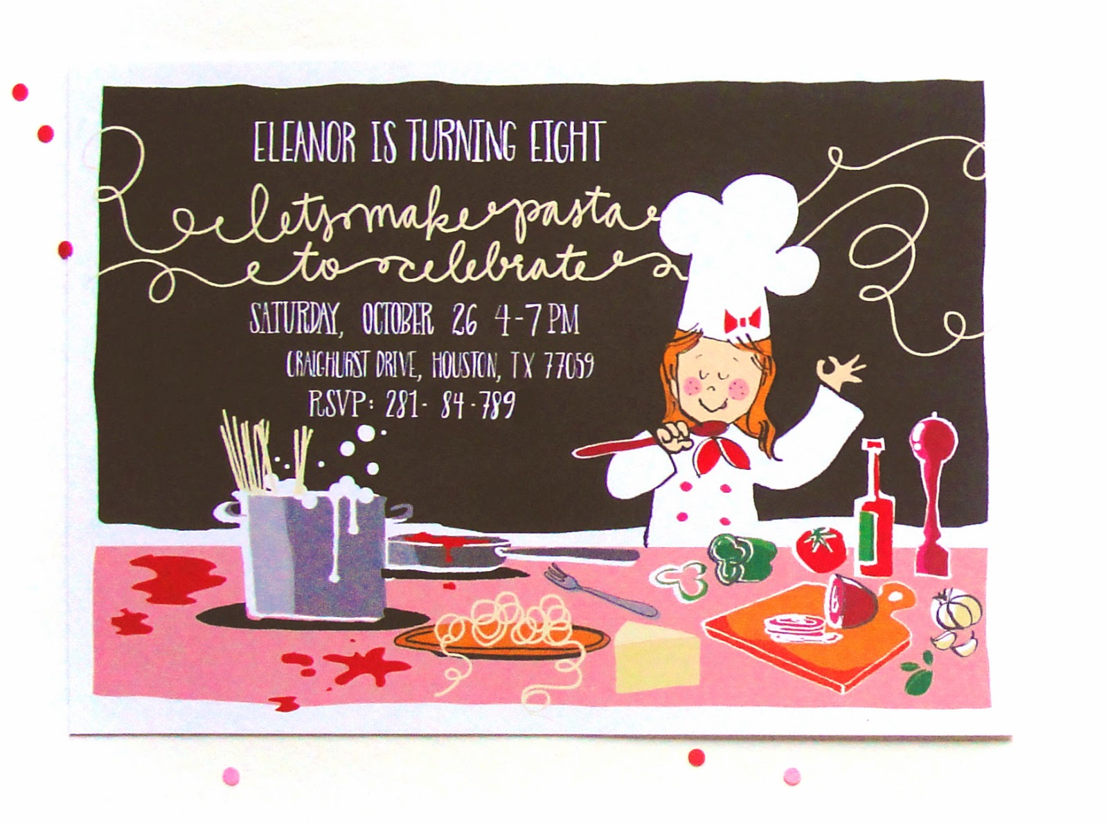 an open [sketch]book: eleanor\'s custom birthday invites and thank ...