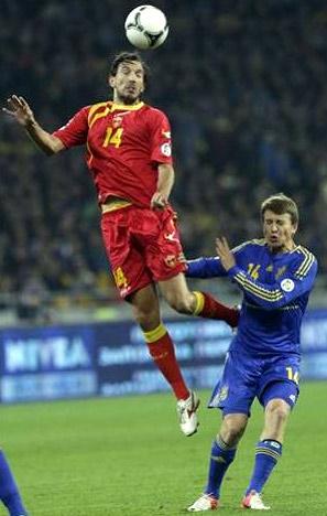 матч Украина-Черногория