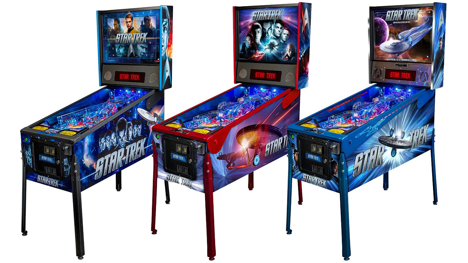 trek pinball machine