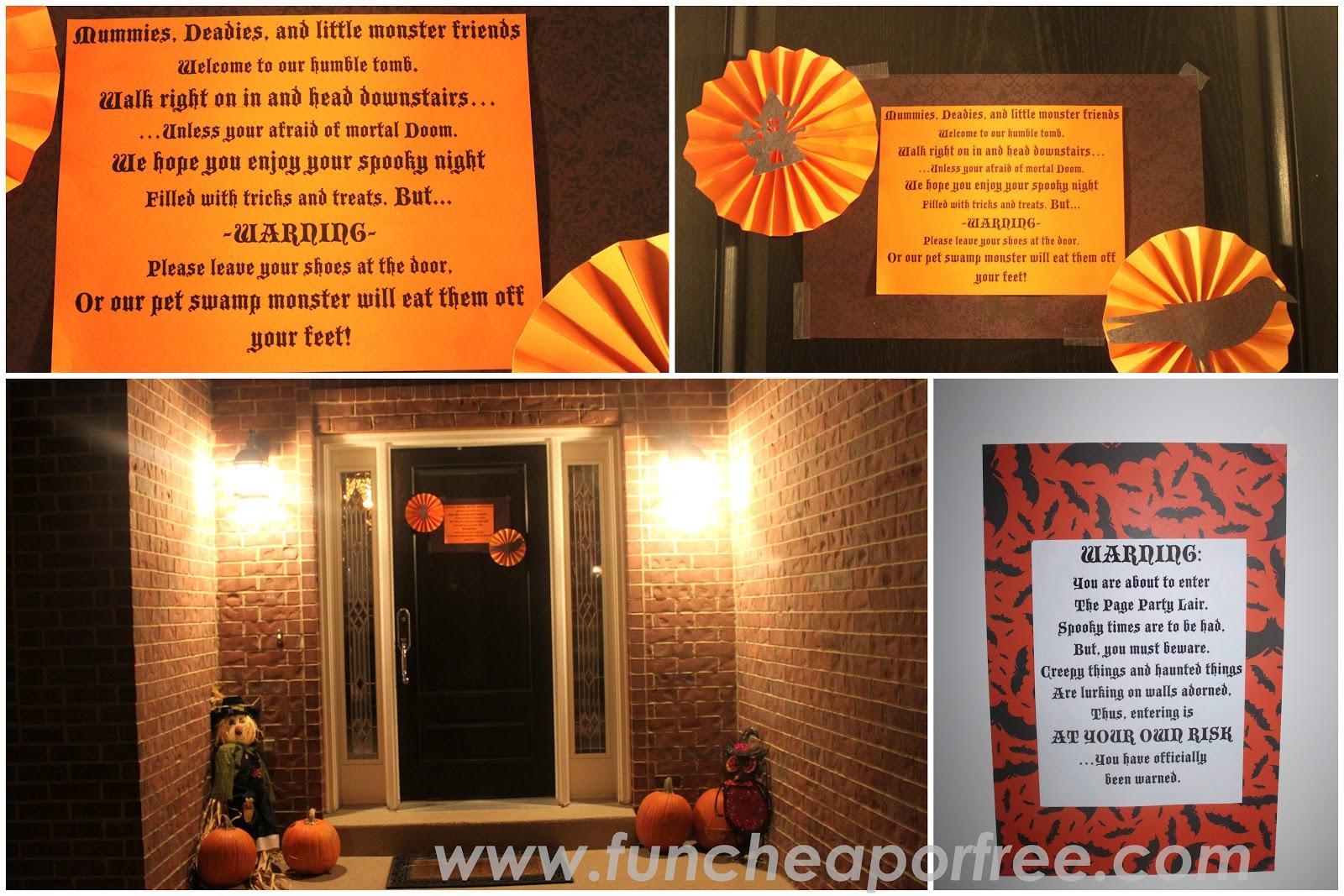 Halloween Party Ideas: fun cheap or free style! - Fun Cheap or Free