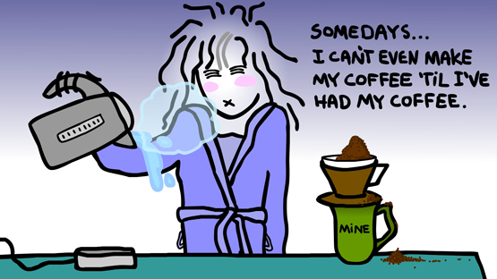 Coffee Maker Made Me Sick : The Animated Woman: COFFEE Conundrum.