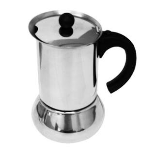 Vev Vigano Carioca Nero 6-Cup Espresso Maker