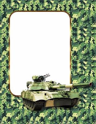 army digital frame