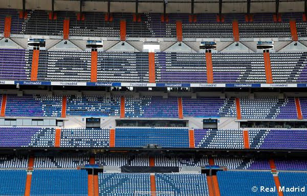 Mosaico de Juanito Bernabeu Real Madrid