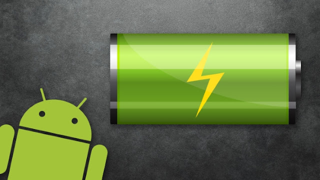 android logo baterry