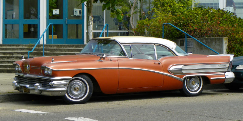 Cadillac Parts San Francisco >> California Streets: San Francisco Street Sighting - 1958 Buick Century Riviera