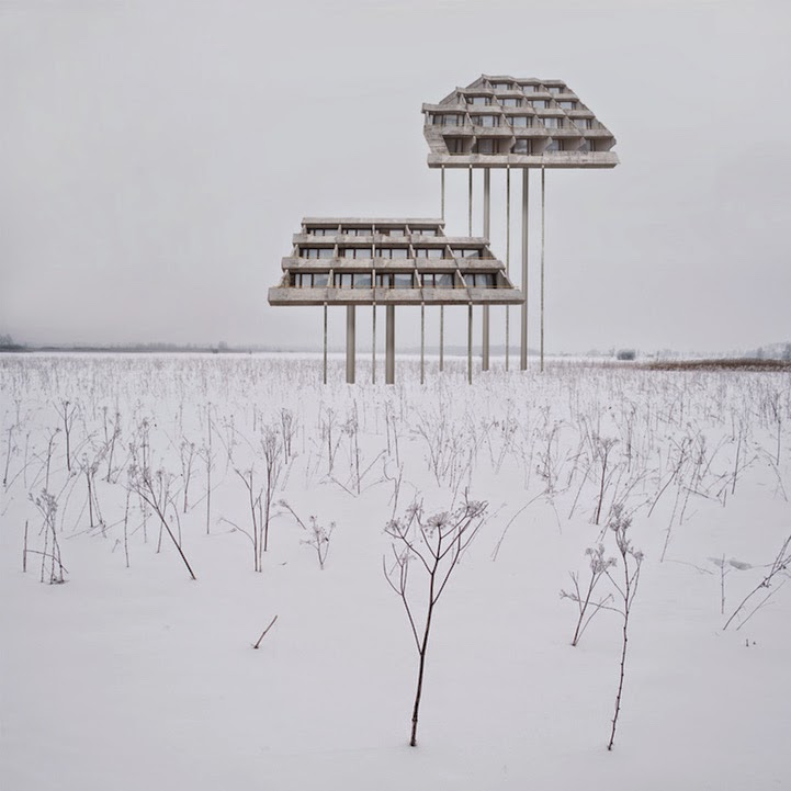 surreal houses collages matthias jung-6