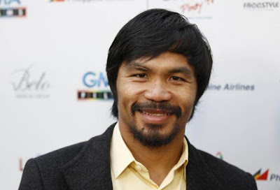 superstar boxer Manny Pacquiao