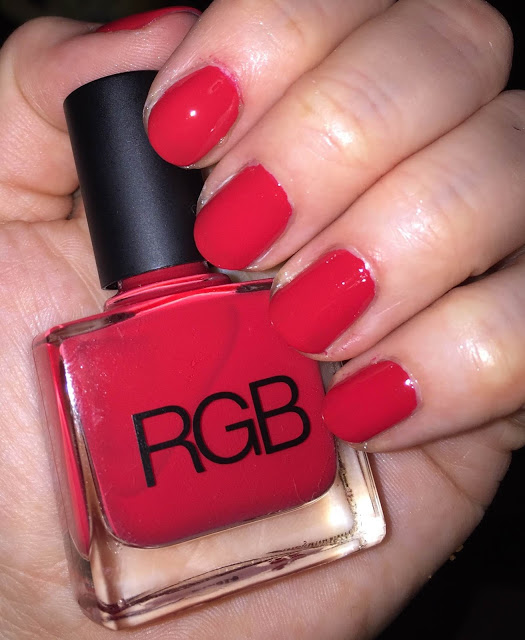 My 2015 in Nails, nail polish roundup, nail polish, nail lacquer, nail varnish, manicure, #ManiMonday, RGB Cosmetics Too Red
