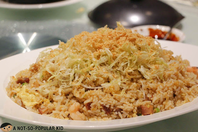 The rightly spiced Singaporean Sambal rice