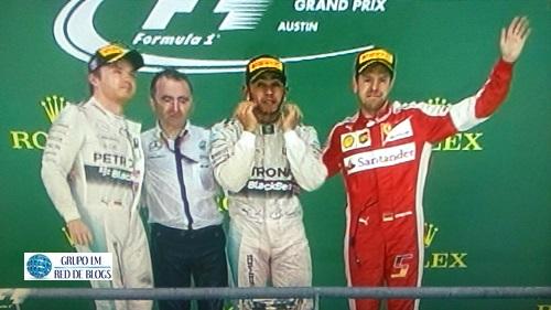 Podio de Fórmula 1