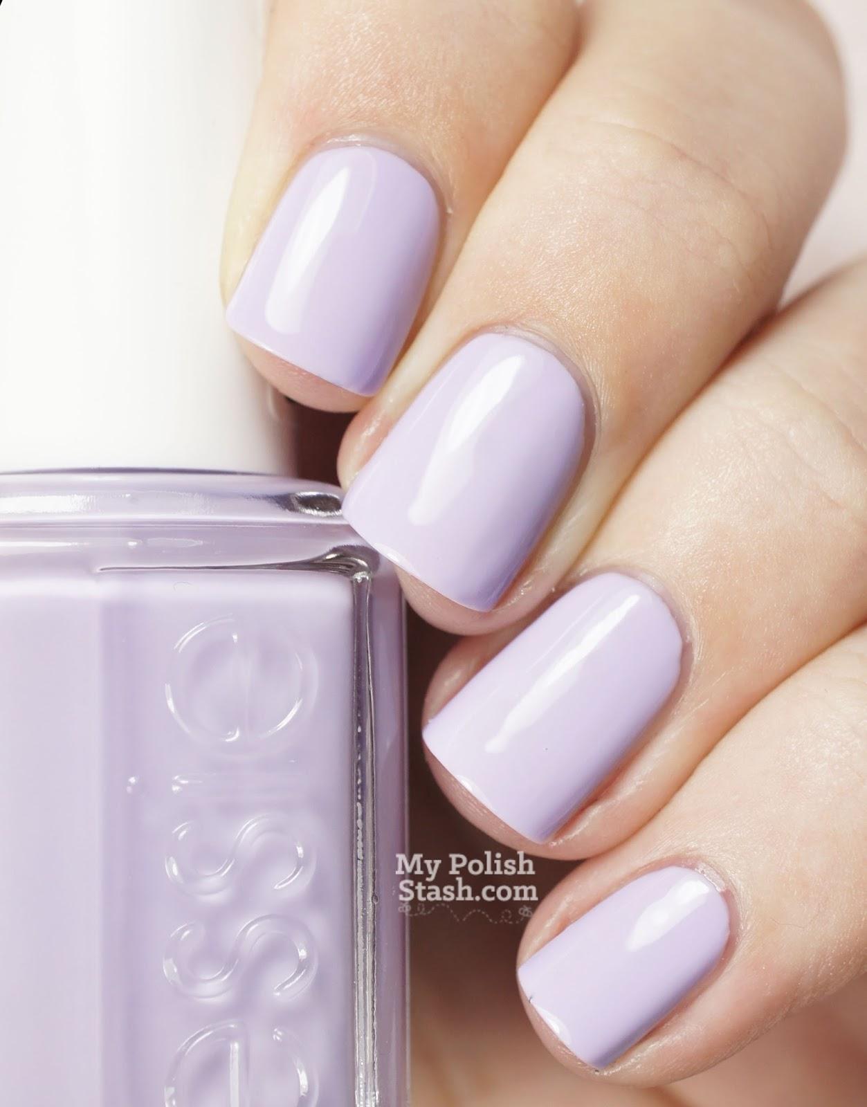 pastel lavender nail polish