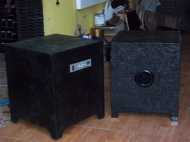 Sub Woofer lapis Fiber