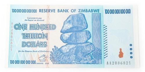 Dollar Zimbabwe yang tidak ada harganya