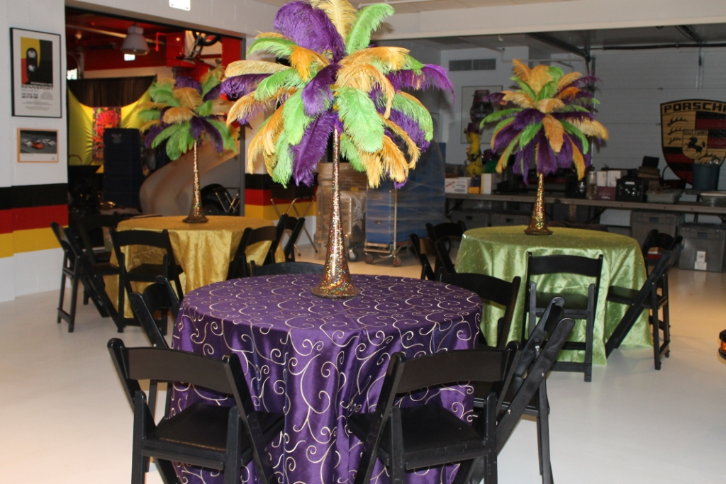 Platinum touch events mardi gras party inspiration