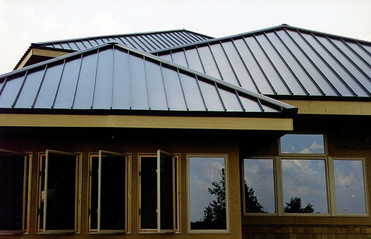 Metal roof residential metal roof standing seam for Tin roof styles