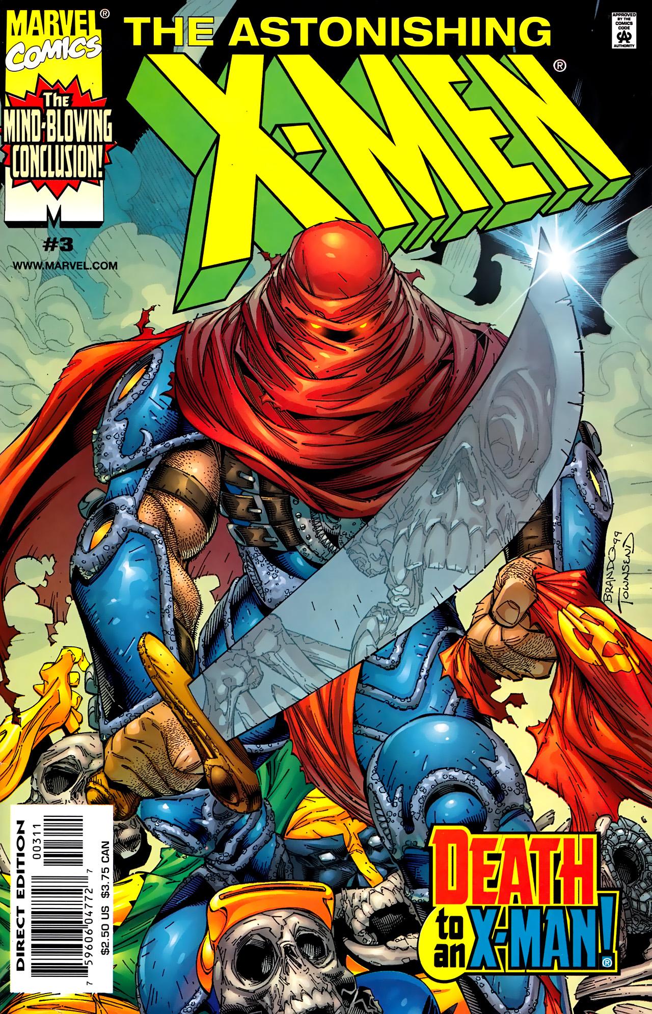 Astonishing X-Men (1999) 3 Page 1