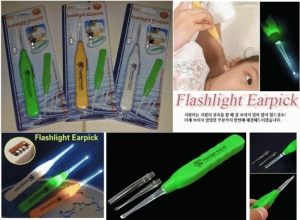 Flashlight Earpick