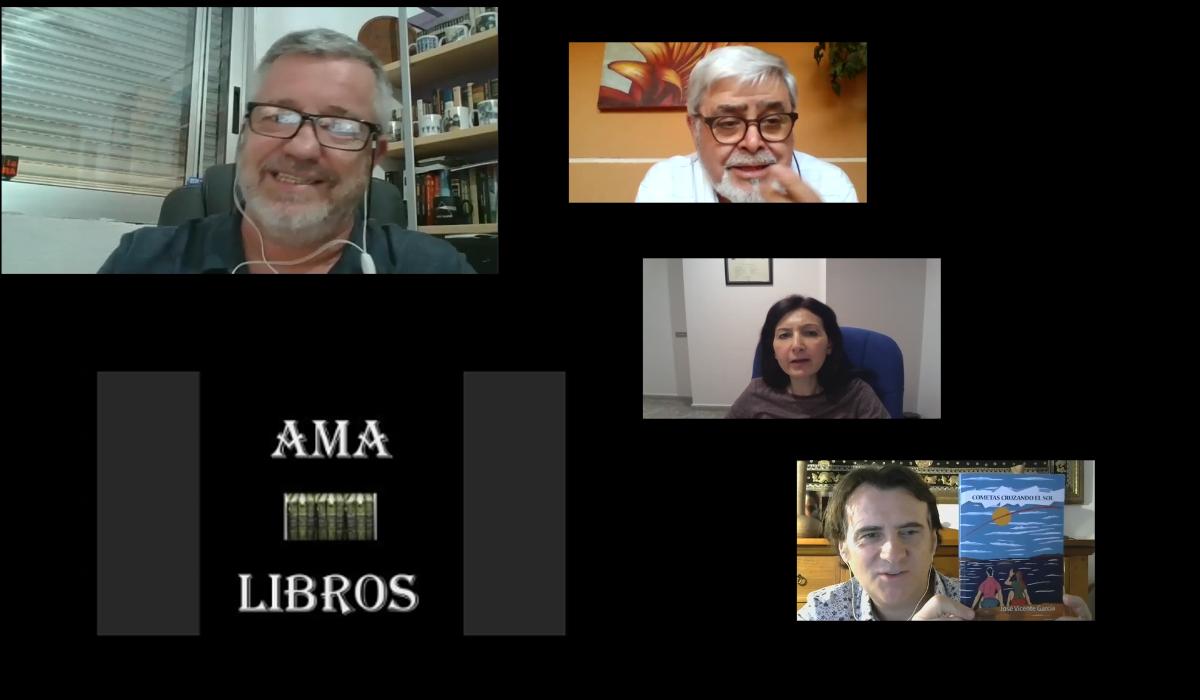Anécdotas literarias con José Vicente García (28-5-2020)