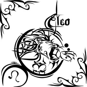 Leo Zodiac Sign Tattoo Designs
