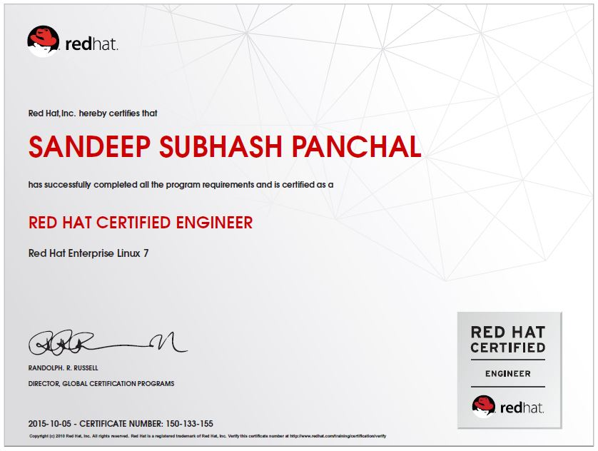 RHCE Certification for RHEL 7 | Amazing Draw