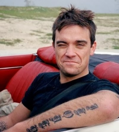 Tattooz Designs Robbie Williams Tattoos Meanings And Pictures