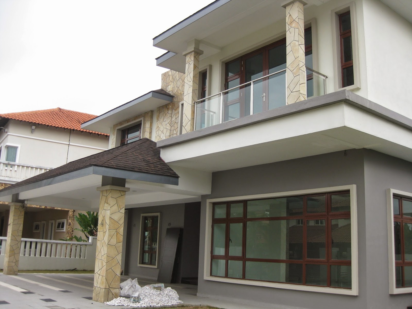 Kota damansara polo club two storey brand new bungalow for Two storey bungalow