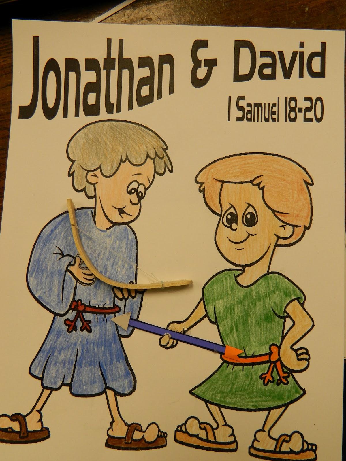 Hands On Bible Teacher Best Friends David And Jonathan