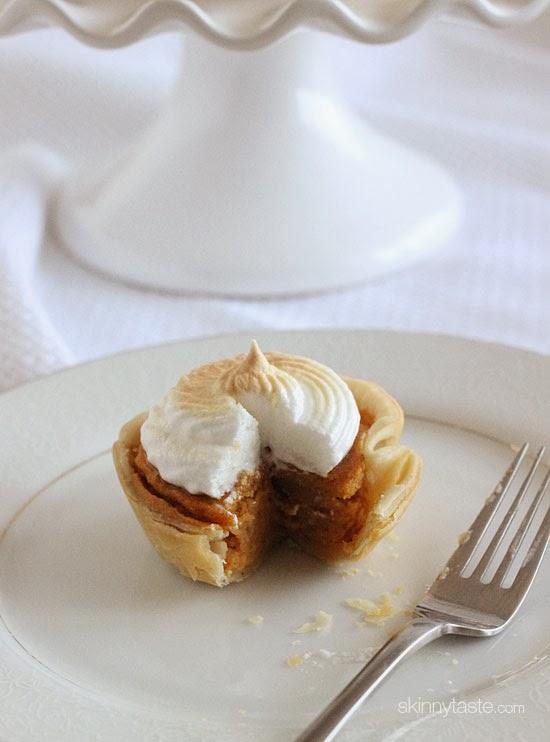 Mini Sweet Potato Meringue Pies | Skinnytaste