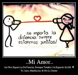 en el amor la distancia es lo menos importante