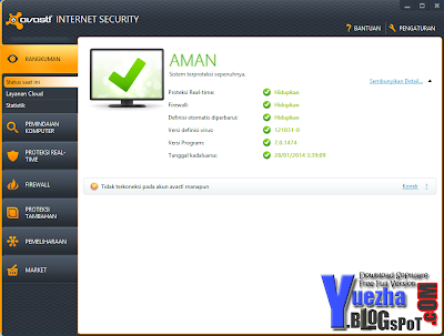 Avast Internet Security v.7.0.1474 2013 Full License Key Valid Till 2014