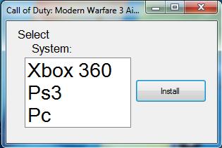 call of duty modern warfare 3 aimbot free download ps3