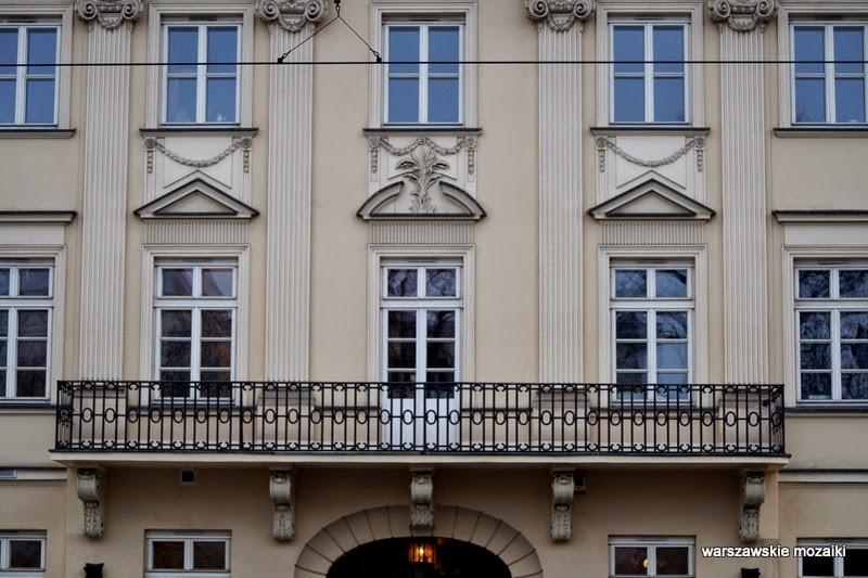 balkon Warszawa Śródmieście kamienice Jakub Fontana Soliarności 105 Szymon Bogumił Zug
