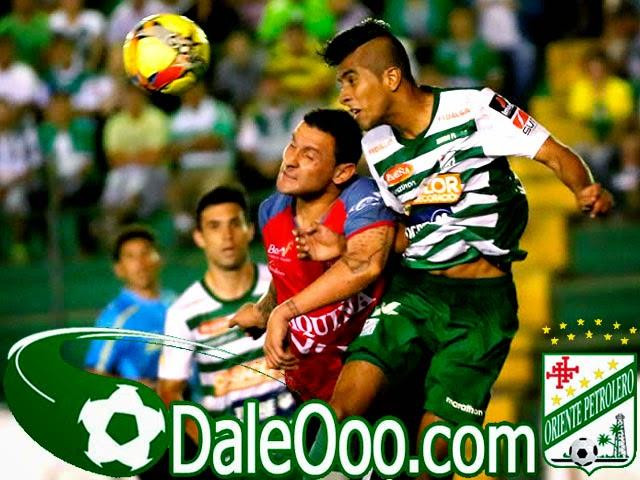 Oriente Petrolero - Carlos Añez - Danny Bejarano - Oriente Petrolero vs Wilstermann - DaleOoo.com sitio del Club Oriente Petrolero