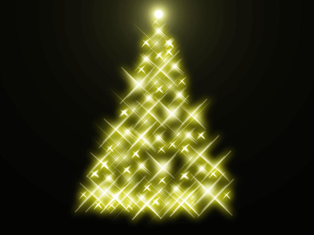 gif de estrellas navidenas: