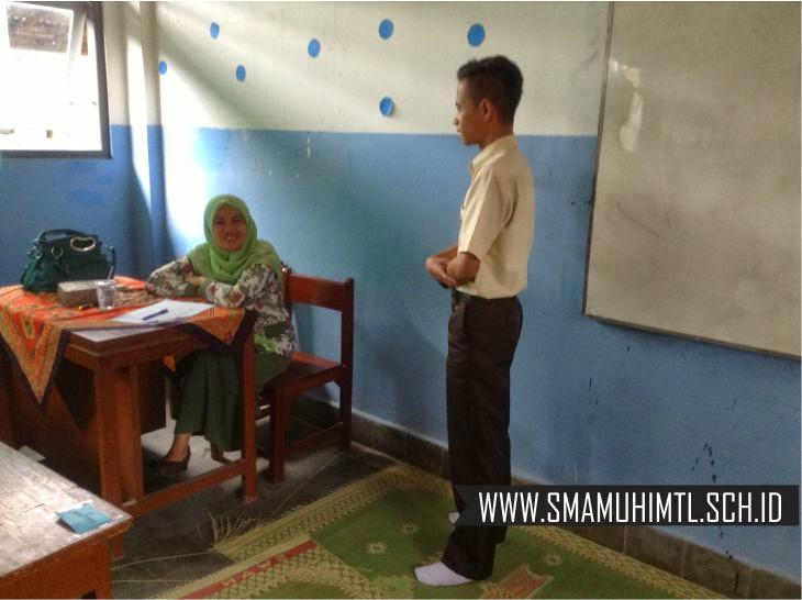 Ujian praktik shalat jenazah hari sma muhammadiyah 1 muntilan