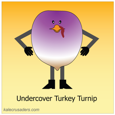 Undercover Turkey Turnip
