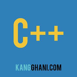 Contoh Program C++ Menjumlahkan Nilai Array
