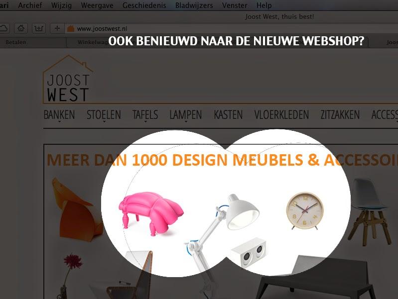nieuwe webshop Joost West