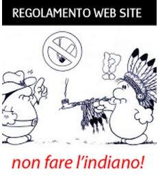 REGOLAMENTO SITO WEB