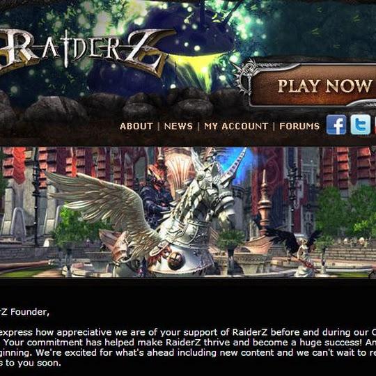 I'm Getting A Winged Arrod Mount In RaiderZ