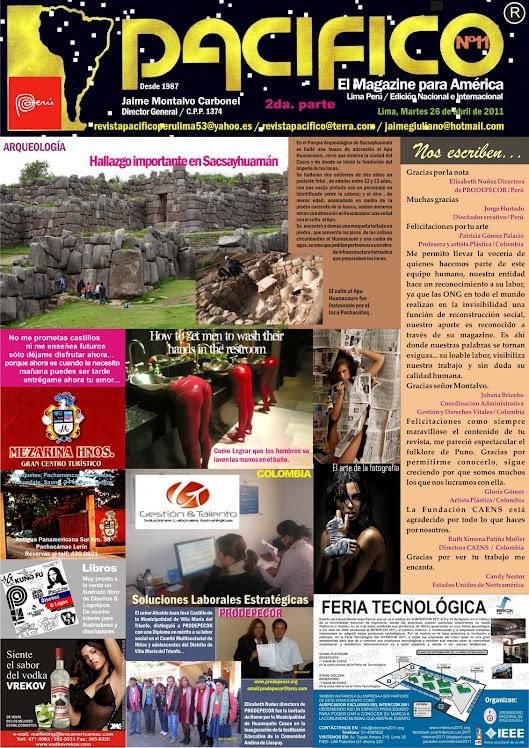 Revista Pacífico Nº 11 segunda parte