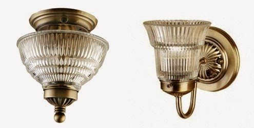 Antique Brass Lights