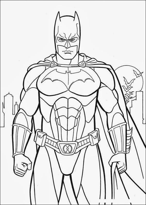 Batman Coloring Pages Super Coloring Book