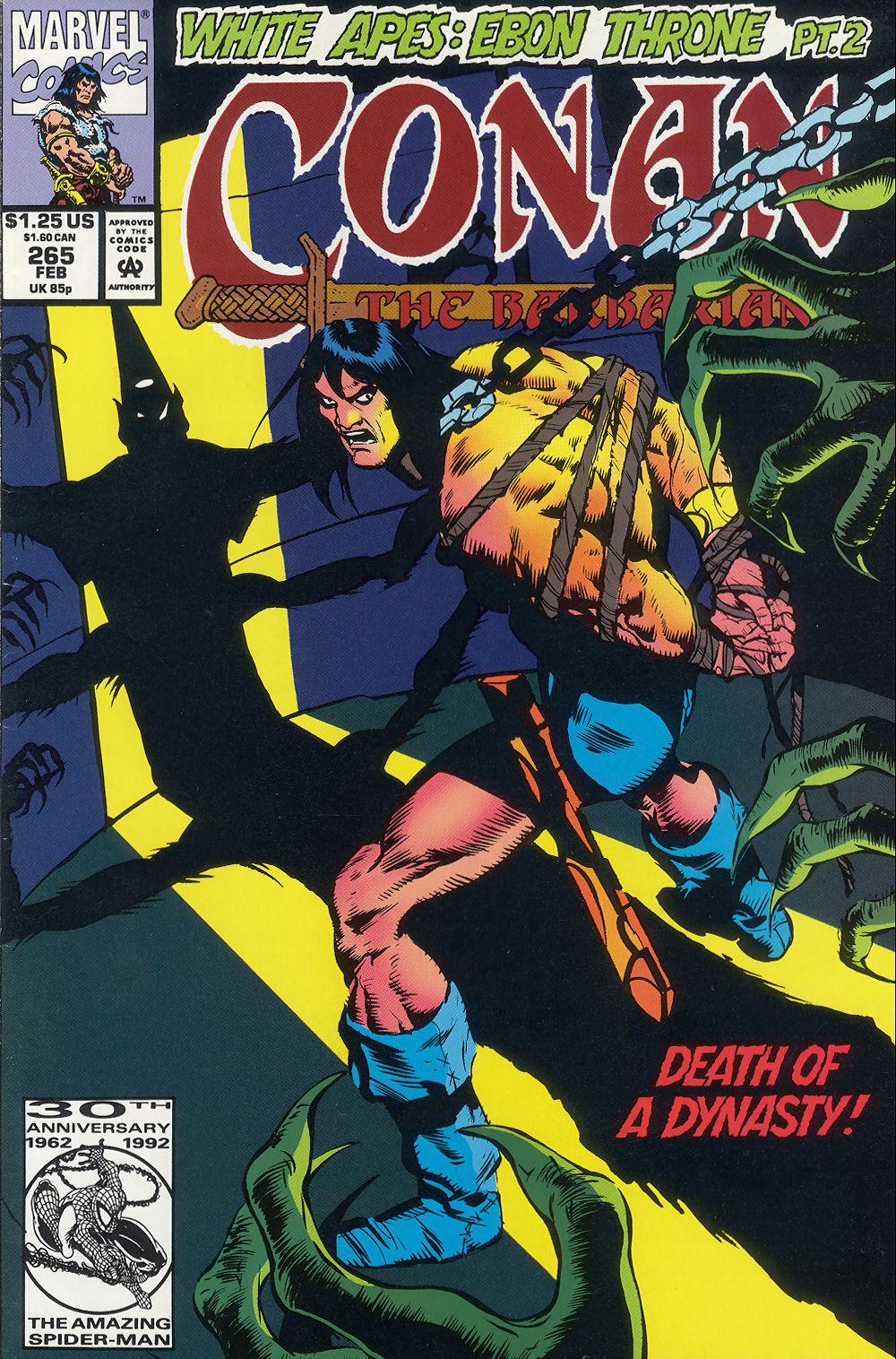 Conan the Barbarian (1970) Issue #265 #277 - English 1
