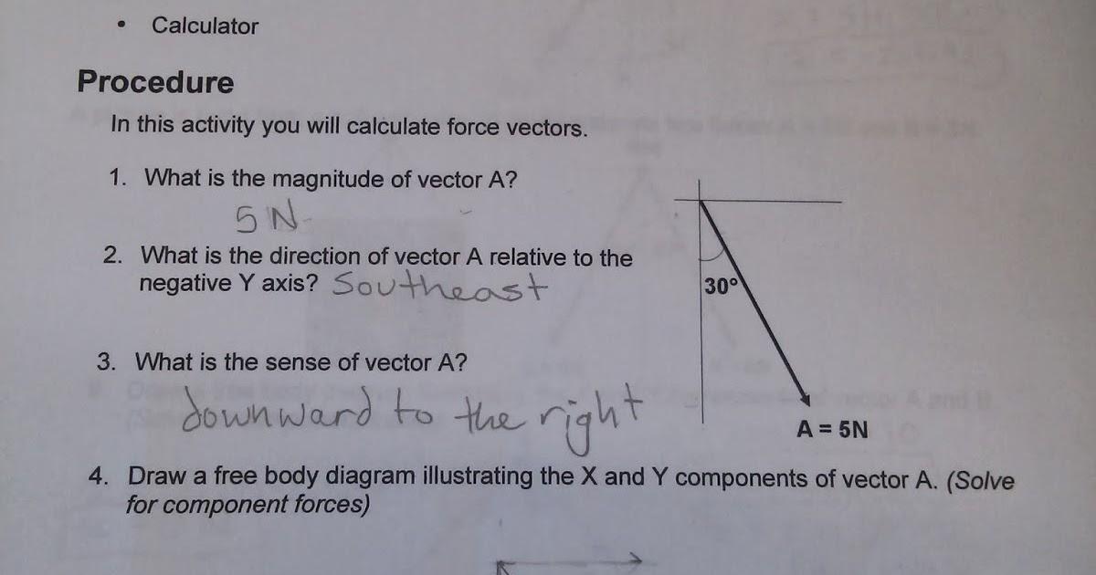 Build The Future Activity 2 1 4 Calculating Force Vectors